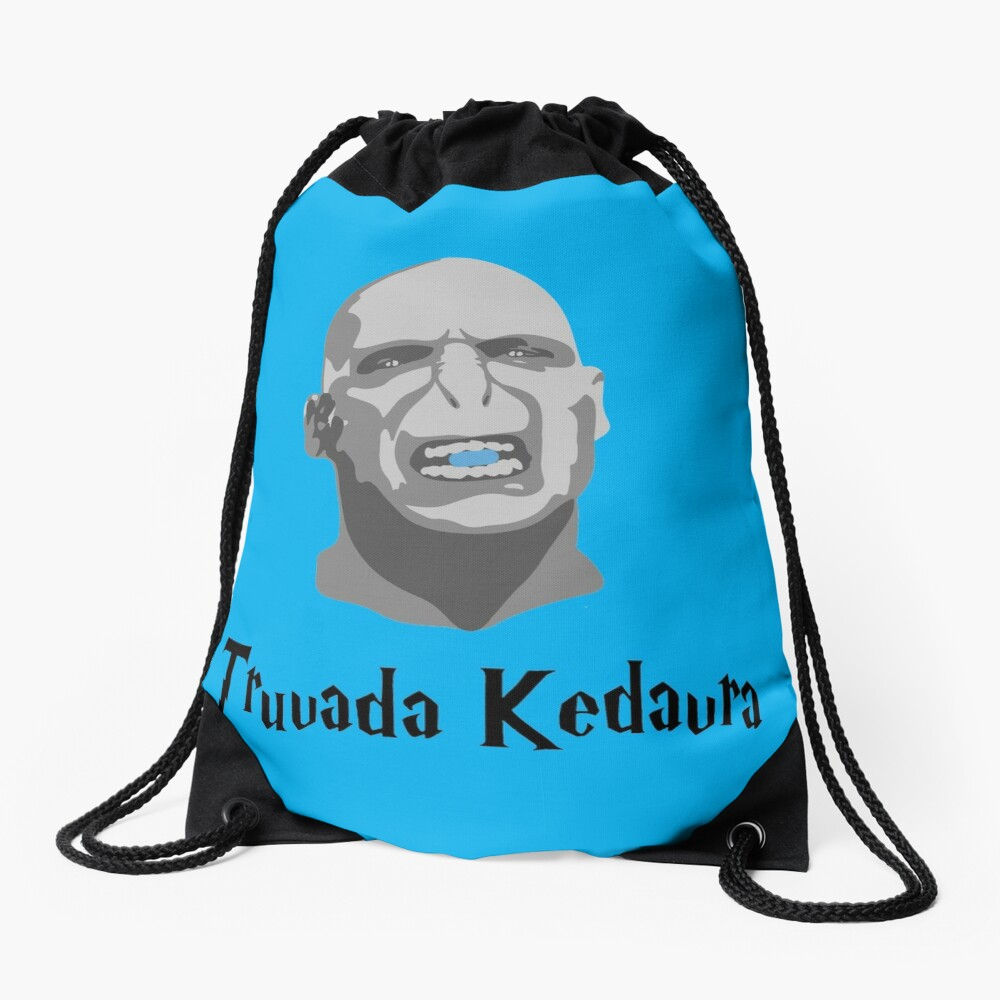 Truvada Kedavra Drawstring Bag