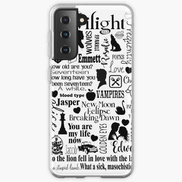 Twilight Themed Sub Way Art Graphic Samsung Galaxy Soft Case