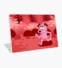 Fear and Courage Laptop Skin