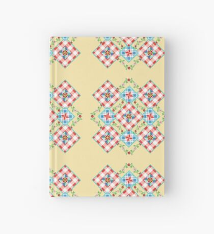 Cottage Chic Gingham Patchwork Hardcover Journal