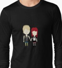 She's Rather Beautiful - Naomi and Emily Stylized Print Long Sleeve T-Shirt