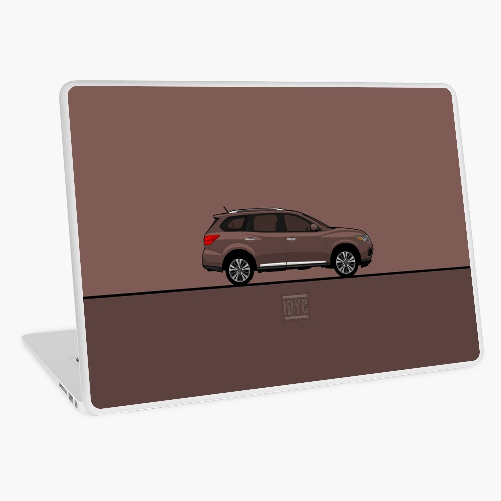 Visit idrewyourcar.com to find hundreds of car profiles! Laptop Skin