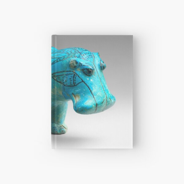 William the Hippo. Ancient Egyptian figurine Hardcover Journal