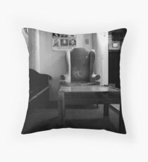 Reader's Corner Throw Pillow