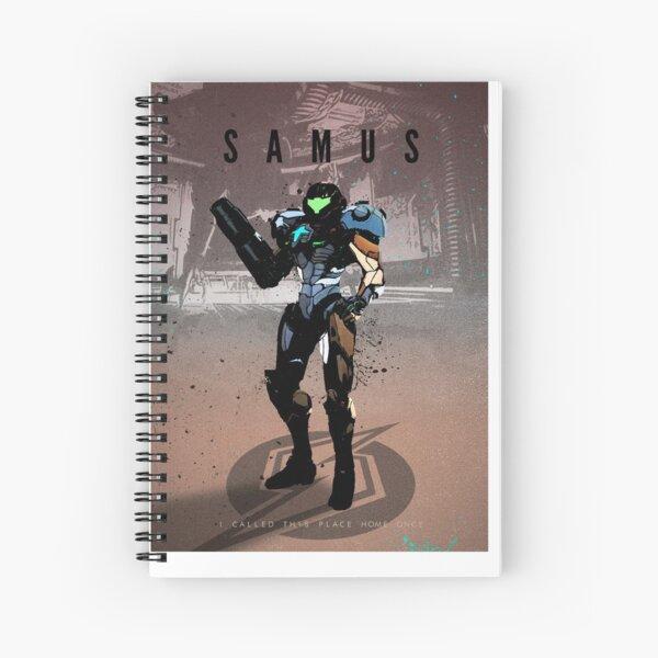 Legends of Gaming - Samus Spiral Notebook