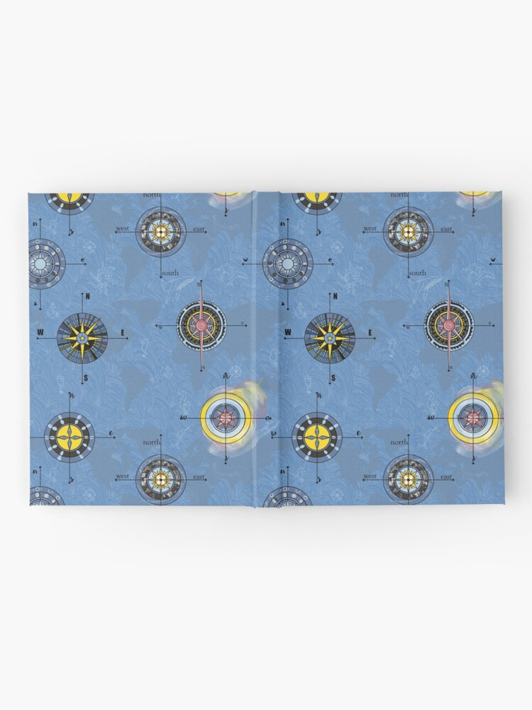Alternate view of Navigating the waters Hardcover Journal