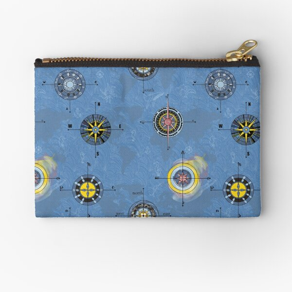 Navigating the waters Zipper Pouch
