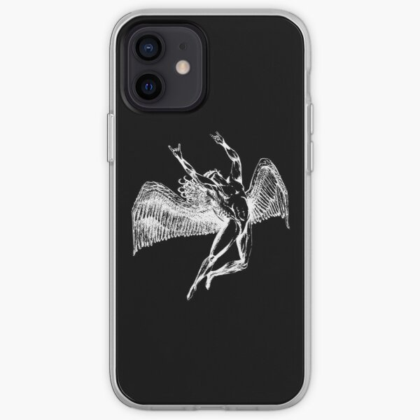 ICARUS THROWS THE HORNS - white ***FAV ICARUS GONE? SEE BELOW*** iPhone Soft Case