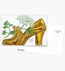 Pika-Shoe: Picky Pika with Plant Parasol & Posh Pad Postcards