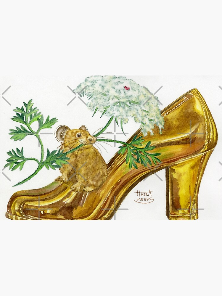 Pika-Shoe: Picky Pika with Plant Parasol & Posh Pad by HajraMeeks