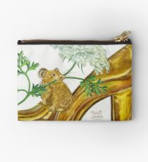 Pika-Shoe: Picky Pika with Plant Parasol & Posh Pad Zipper Pouch