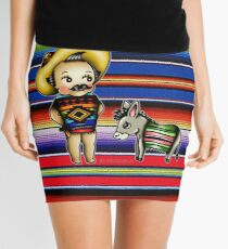 Mexican Kewpie Mini Skirt