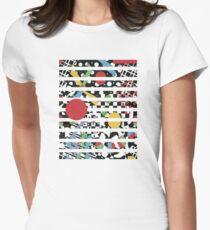 Ticker Tape Geometric Design T-Shirt