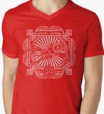 Let's Jam Men's V-Neck T-Shirt