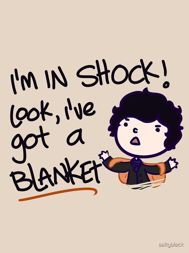 I'VE GOT A BLANKET! by saltyblack