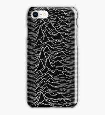 Music band waves - Black&White iPhone Case/Skin