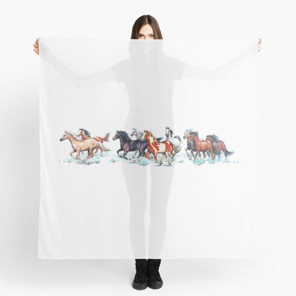 Wild Horse Herd Scarf
