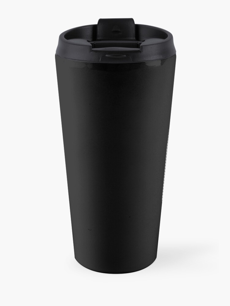 Alternate view of I Just Freakin' Love Champagne Quote Travel Mug