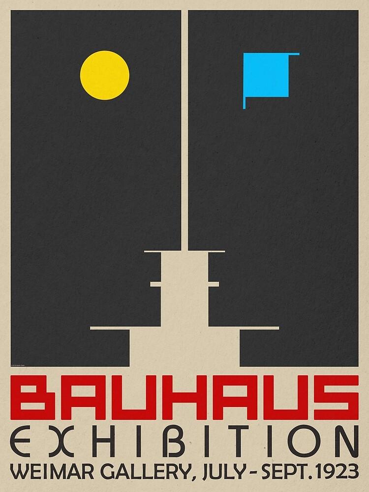 Bauhaus Exhibition III Poster / Weimar Gallery by BLTV