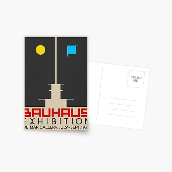 Bauhaus Exhibition III Poster / Weimar Gallery Postcard