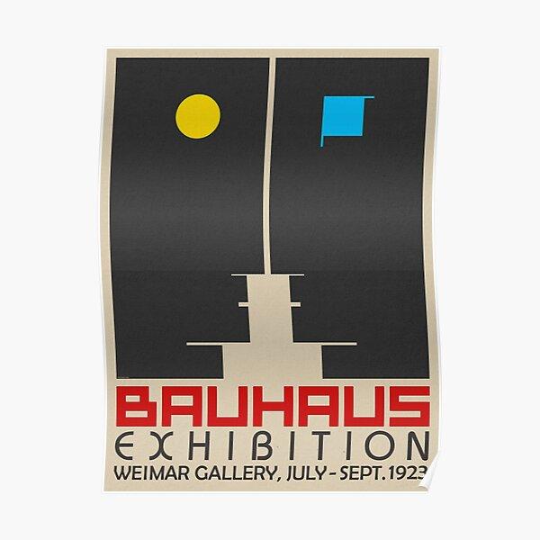Bauhaus Exhibition III Poster / Weimar Gallery Poster