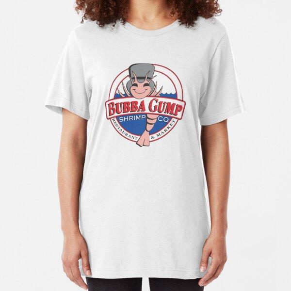 Bubba Gump Shrimp T-Shirt Forest Gump Top Retro 90s Film Movie Mens or Ladies