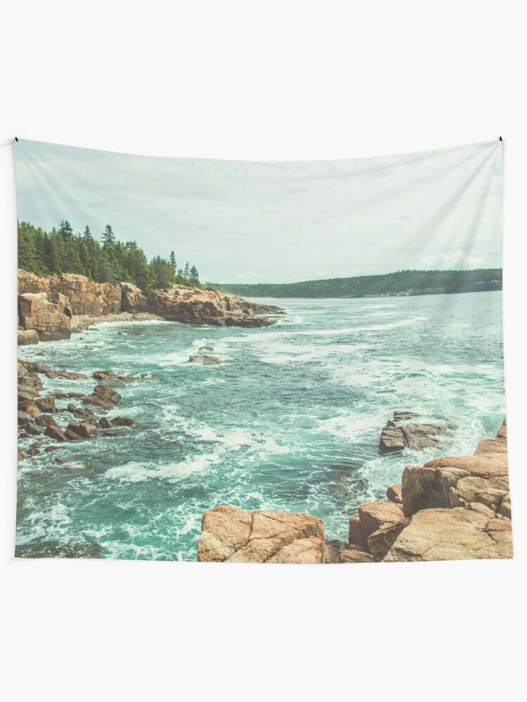 Alternate view of Acadia Coastline - National Park Ocean Tapestry