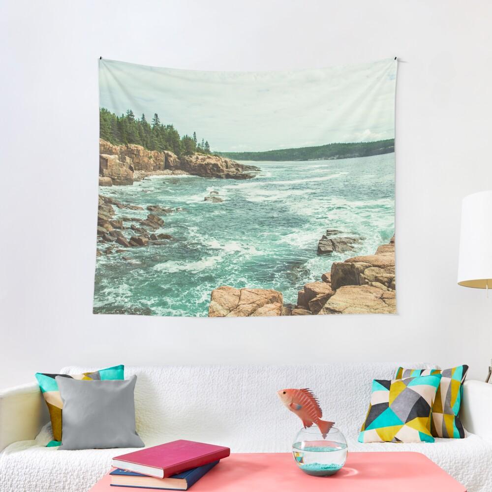 Acadia Coastline - National Park Ocean Tapestry