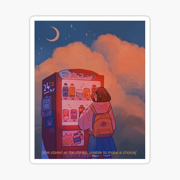vending machine Sticker