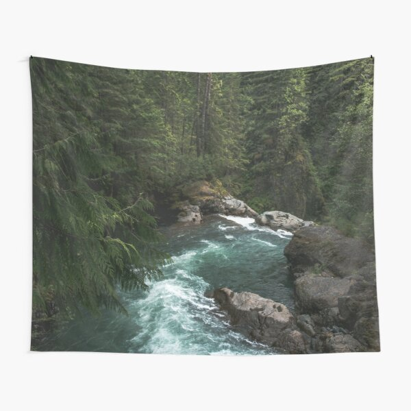 The Lost River - Pacific Northwest Adventures Tapestry