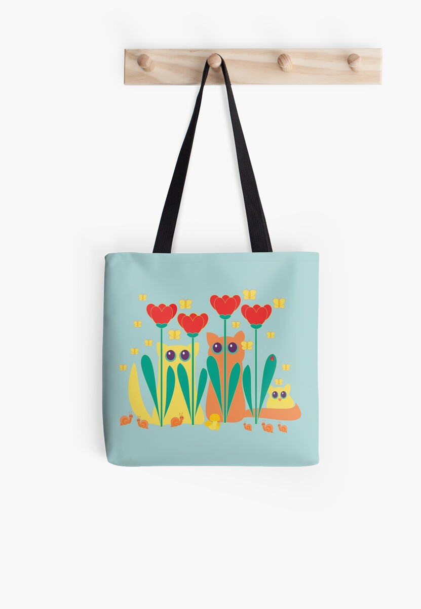 Rabble Of Butterflies In Tulip Garden by Jean Gregory  Evans