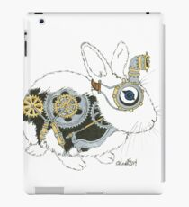Daily Doodle 33 - Robot - Steampunk Bunny -Elvis iPad Case/Skin