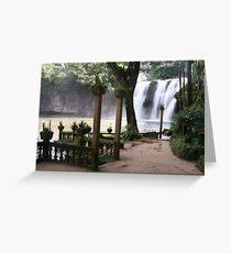 Paronella Park Picnic Area Greeting Card