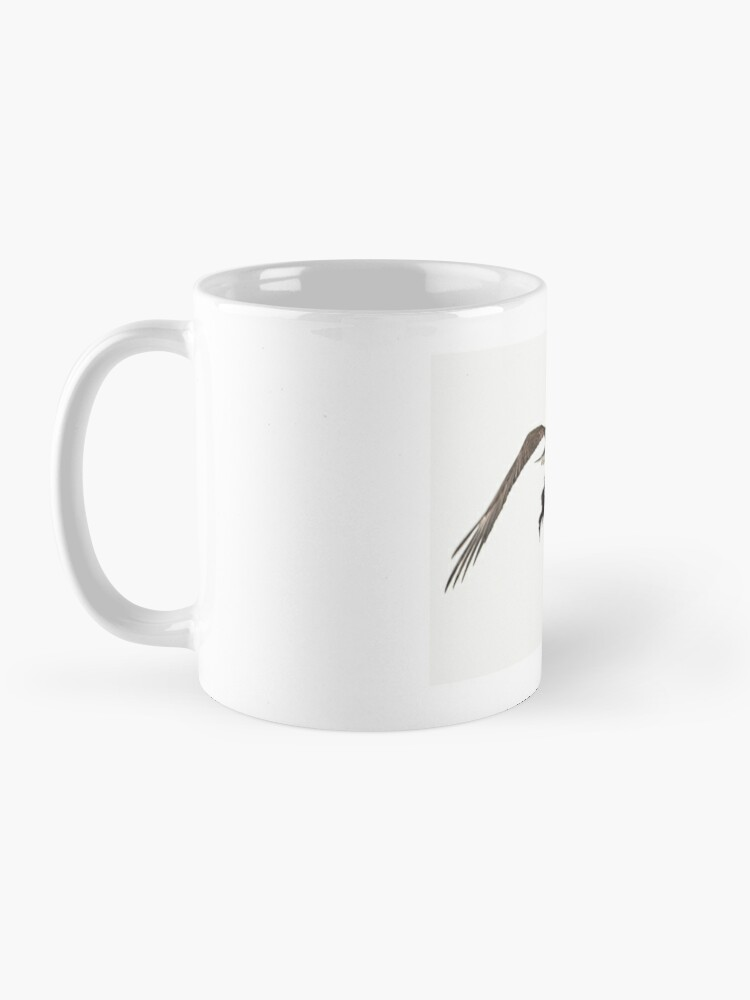 Alternate view of Eagle with Dinner Mug