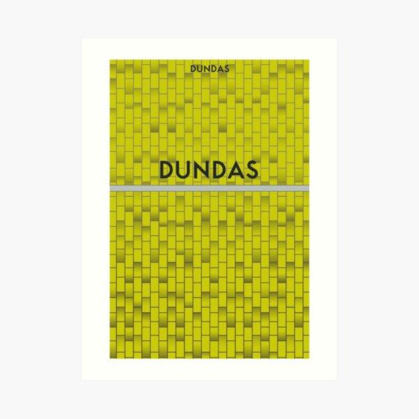 DUNDAS Subway Station Art Print