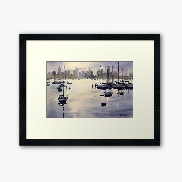 Williamstown Sunrise, Melbourne Framed Art Print
