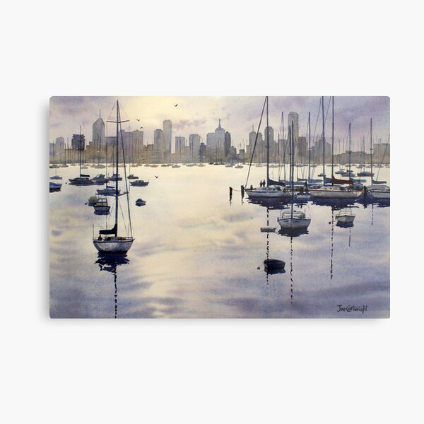Williamstown Sunrise, Melbourne Metal Print