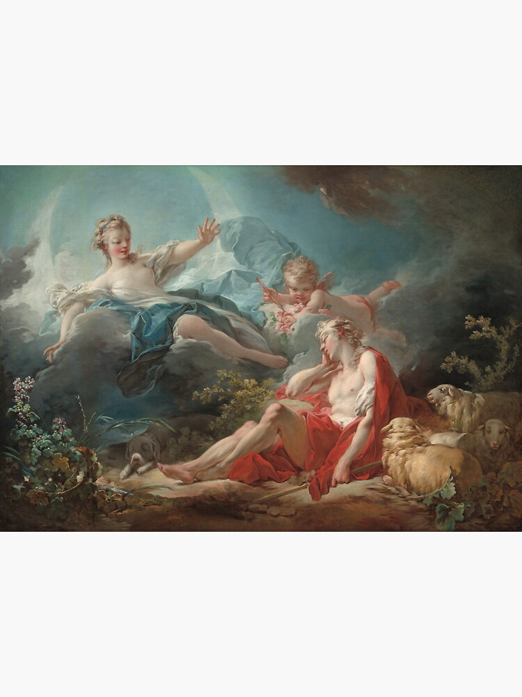 Jean Honoré Fragonard. Diana and Endymion, 1753-56. by museumshop3