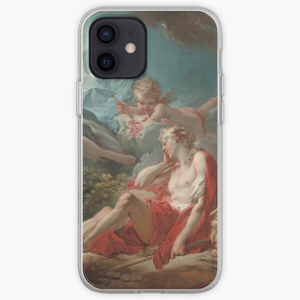 Jean Honoré Fragonard. Diana and Endymion, 1753-56. iPhone Soft Case