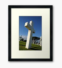 Fallen Soldiers in the Pacific WWII Framed Print