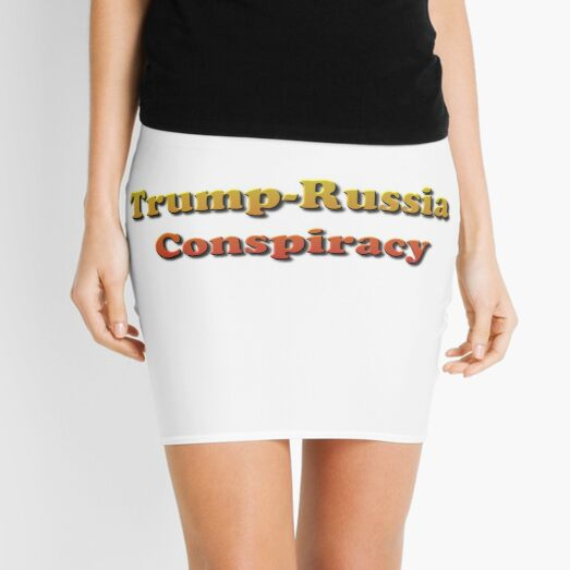 Trump-Russia Conspiracy Mini Skirt