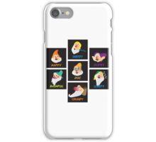 the 7 dwarfs iPhone Case/Skin