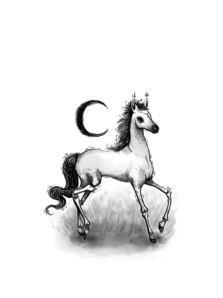 Pale Horse by melancholymoon
