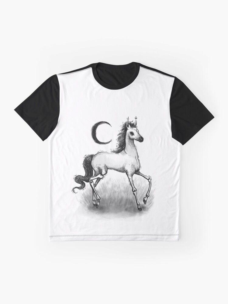 Alternate view of Pale Horse Graphic T-Shirt