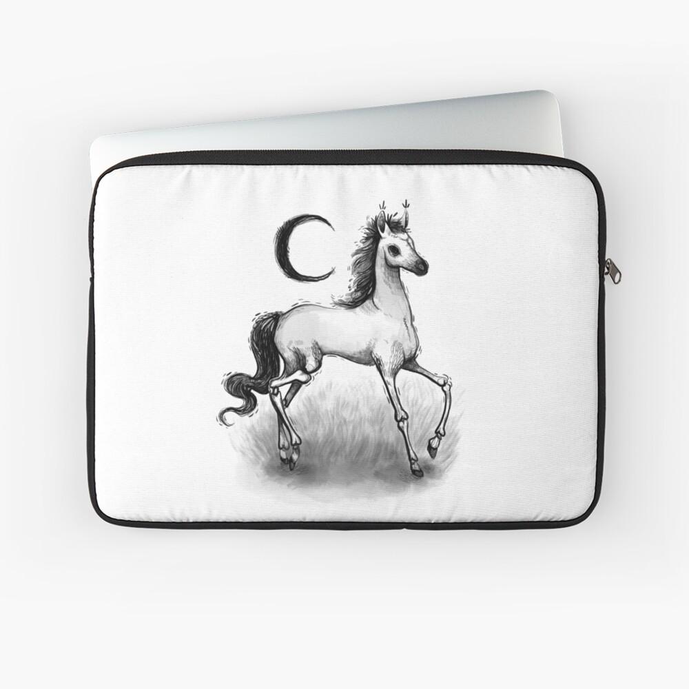 Pale Horse Laptop Sleeve