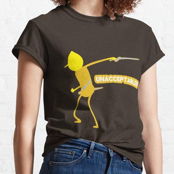 Adventure Time Lemongrab Unacceptable Classic T-Shirt