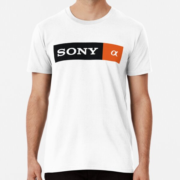 sony alpha Camiseta premium