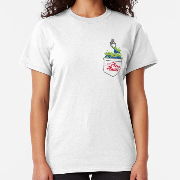 Aliens and the Claw - Pocket Classic T-Shirt