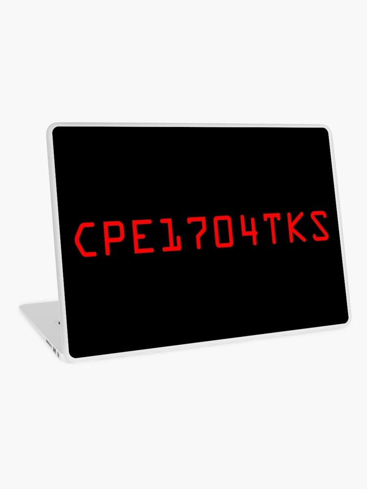 WarGames - launch code   Laptop Skin