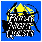 Friday Night Quests Podcast logo by PartialArc